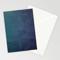 Elegant Low Poly Web Stationery Cards