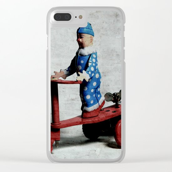 I`m on my Weh to San Jose II Clear iPhone Case