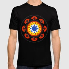Bold and bright beauty of suzani patterns ver.4 Black MEDIUM Mens Fitted Tee