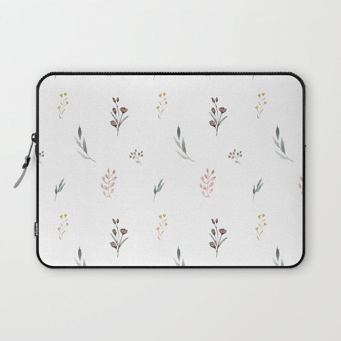 Little botanics pastel pattern Laptop Sleeve