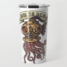 Octopus Diver Travel Mug