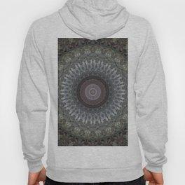 Mandala in grey and brown tones Hoody