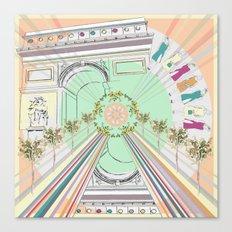 Parisienne Canvas Print