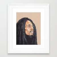 marley Framed Art Prints featuring Marley by E. L. Briscoe Art