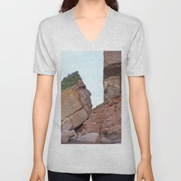 Indian Head Rock Unisex V-Neck