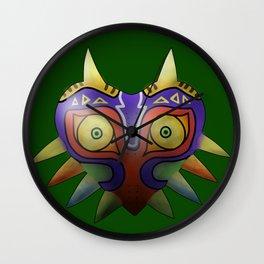 Majora's Mask - Green Wall Clock