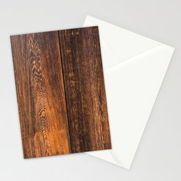 Old wood texture Stationery Cards