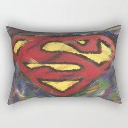 Man of Steel Rectangular Pillow