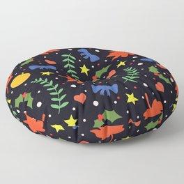 Holiday Season Floor Pillow