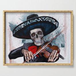 El Mariachi - Dia De Los Muertos Serving Tray