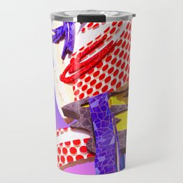 Pop Art Surrealism Travel Mug