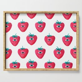 Cry Berry Pattern Serving Tray
