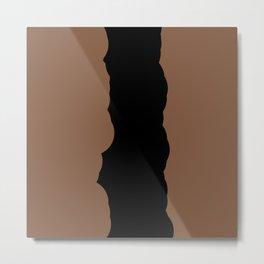 Chocolate Fudge Metal Print