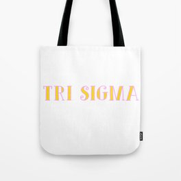 Sigma Tote Bag