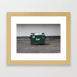yung dumpster Framed Art Print
