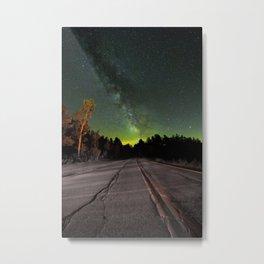 Northern Lights (Color) Metal Print