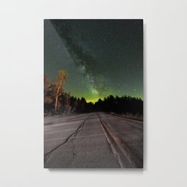 Northern Lights (Color) Metal Print