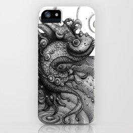 Miss Fish iPhone Case