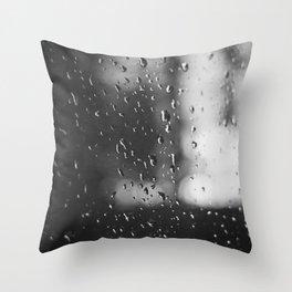 Rain, Rain, Don't Go Away Throw Pillow