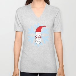 Christmas coming soon. Believe in Santa Clause. Believe #society6 #decor #buyart #artprint Unisex V-Neck