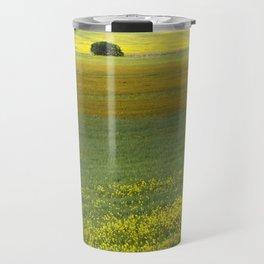 Wild Mustard Field Travel Mug