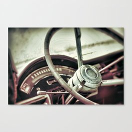 {stuck in reverse} Canvas Print