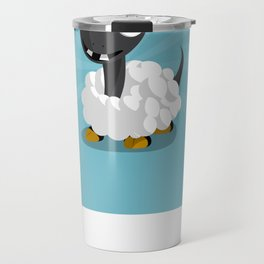 The Dino-zoo: Sheep-saurus Travel Mug