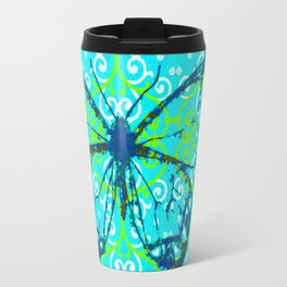 butterfly/motives/colorful/pattern/oldie Travel Mug