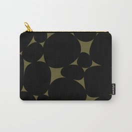 Stone Abstract - Earth Green Carry-All Pouch