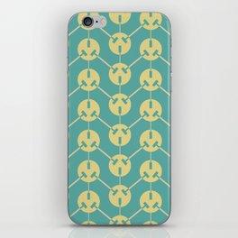 Ohm series 220 volt pattern iPhone Skin