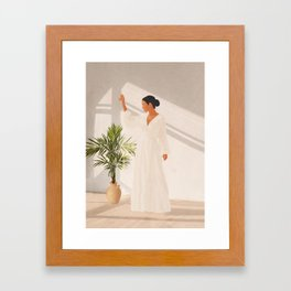 Opened Window Framed Art Print