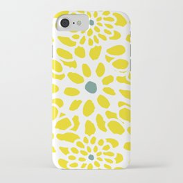 Flowers in Yellow iPhone Case