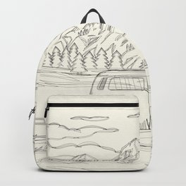Mountain Road Linescape Backpack