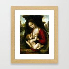 Bernardino dei Conti Madonna and Child Framed Art Print