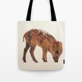 Little Ones: Wild Boar Tote Bag