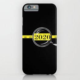 Tape Measure Border 2020 iPhone Case