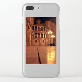 REAL BASILICA in VALENCIA Clear iPhone Case