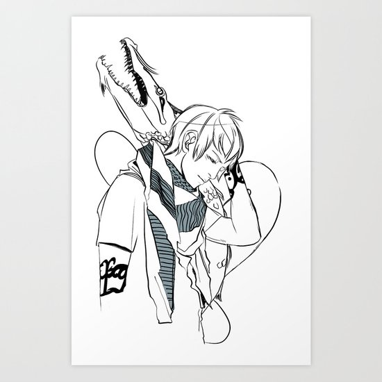 Dragonheart Art Print