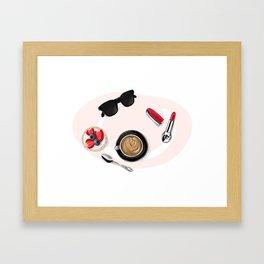 Сoffee Framed Art Print