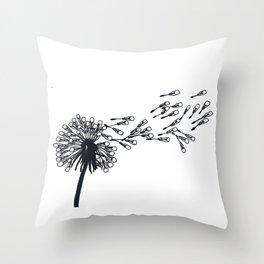 Dandelion Lights Throw Pillow