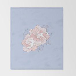 GARDENIA - Serenity Throw Blanket