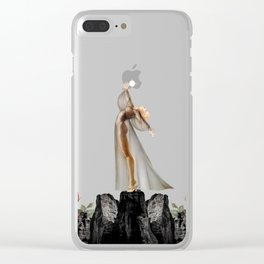 COLLECTING STARS Clear iPhone Case