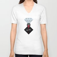 infinite V-neck T-shirts featuring Infinite by Loop in the mind
