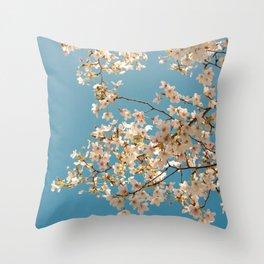 Flower photography by Evgeny Lazarenko Throw Pillow