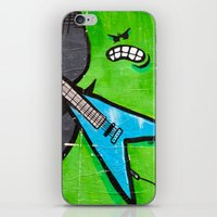 heavy metal iPhone & iPod Skins featuring Heavy Metal by Chantal Seigneurgens