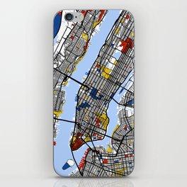 New York Mondrian iPhone Skin