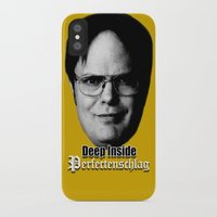 dwight iPhone & iPod Cases featuring Dwight - Perfectenschlag by Thomas Rolfe