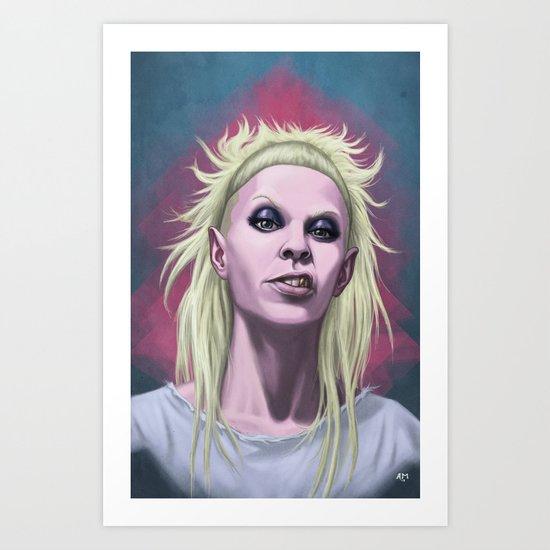 Rich Bitch Art Print