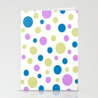 polka dot Stationery Cards featuring Polka Dot by Little Ladybird