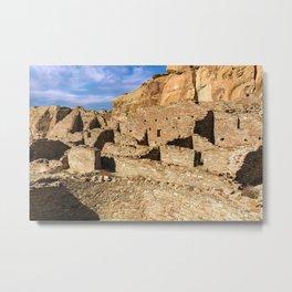 Pueblo Bonito in Chaco Canyon Metal Print